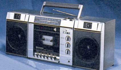 radiocasette Sears Budget Stereo 1985 1986