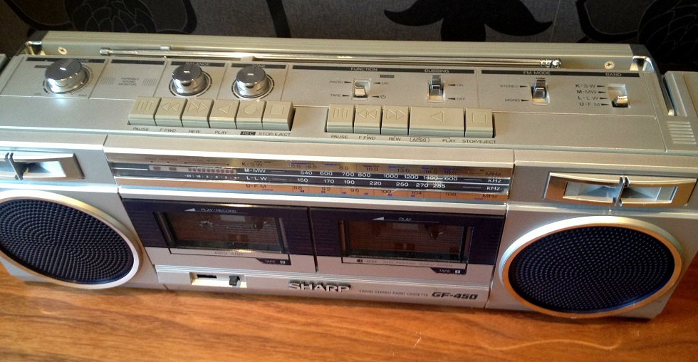 radiocasette Sharp GF-450