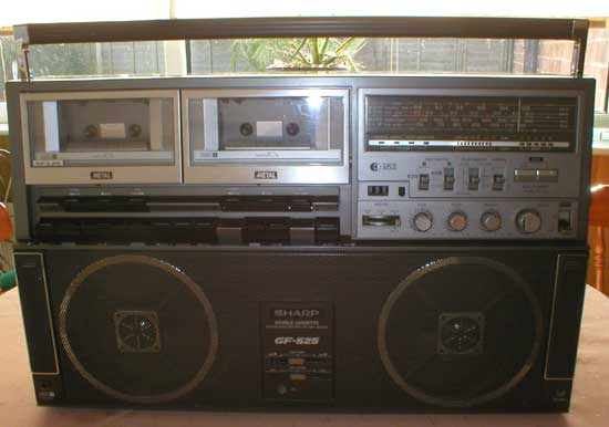 radiocasette Sharp GF-525