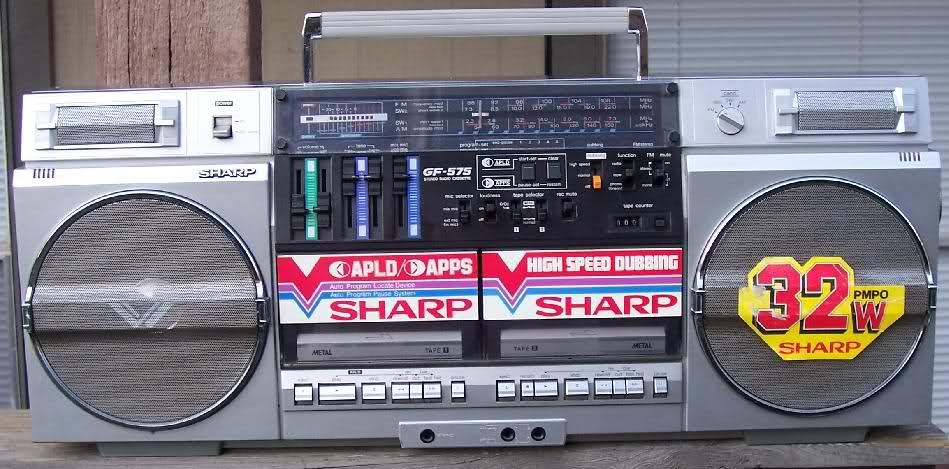 radiocasette Sharp GF-575