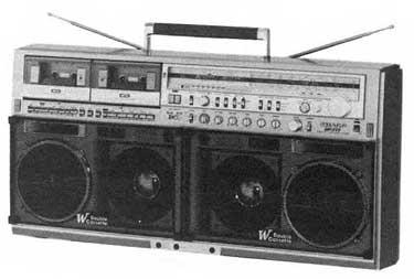 radiocasette Sharp GF-777Z