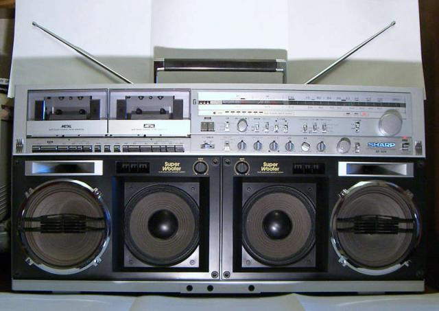 radiocasette Sharp GF-90