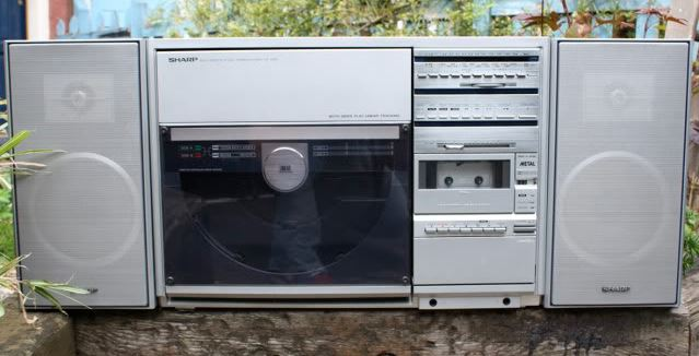 radiocasette Sharp VZ-3500 vertical record