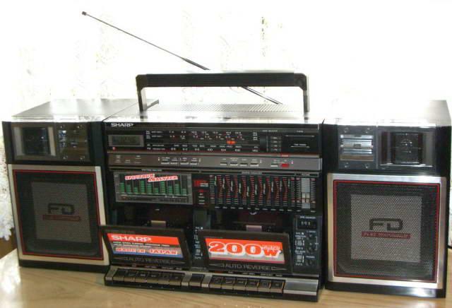 radiocasette Sharp WF-939Z