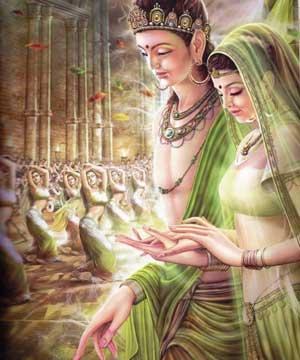 Siddharta princesa Yasodharā