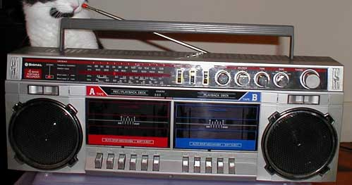 radiocasette Signal 1985