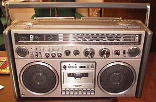 radiocasette Silver Panasonic RX-7700