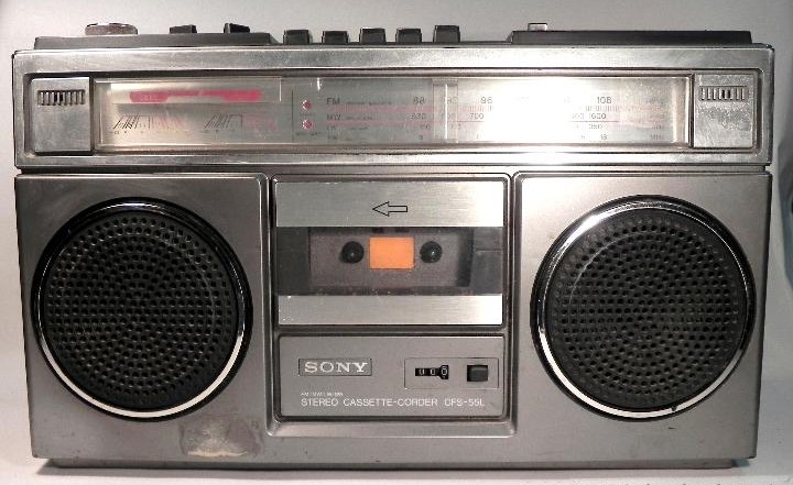 radiocasette Sony CFS-55L
