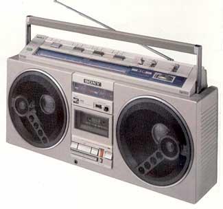 radiocasette Sony CFS-77