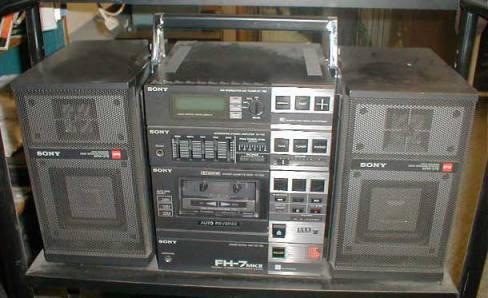 radiocasette Sony FH-7 Mark II