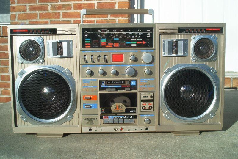 radiocasette Technisonic TC-999