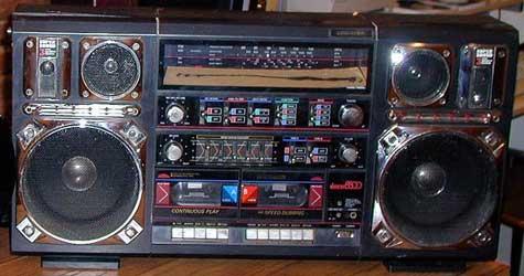 radiocasette Tecsonic Mach8800