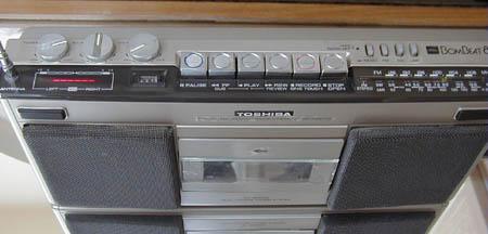radiocasette Toshiba Bombeat RT-8000S