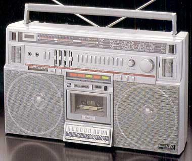 radiocasette Toshiba RT-S931