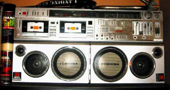 radiocasette Toshiba WX-1