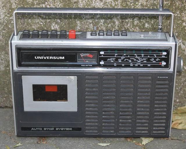 radiocasette Universum Mono radiocasete grabador