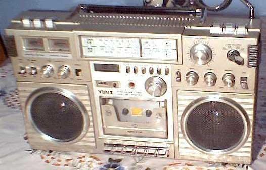 radiocasette Vinix aleman
