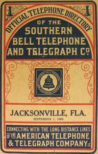 guia telefonica 1908 Jacksonville