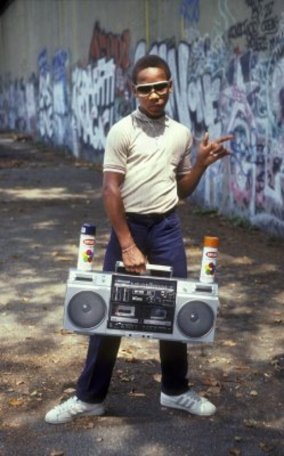 radiocasette graffiti 80s