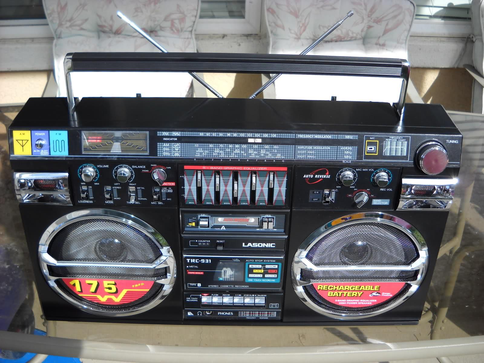 radiocasette radiocasette lasonic TRC-931