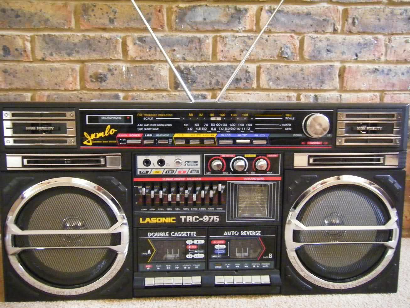radiocasette radiocasette lasonic TRC-975