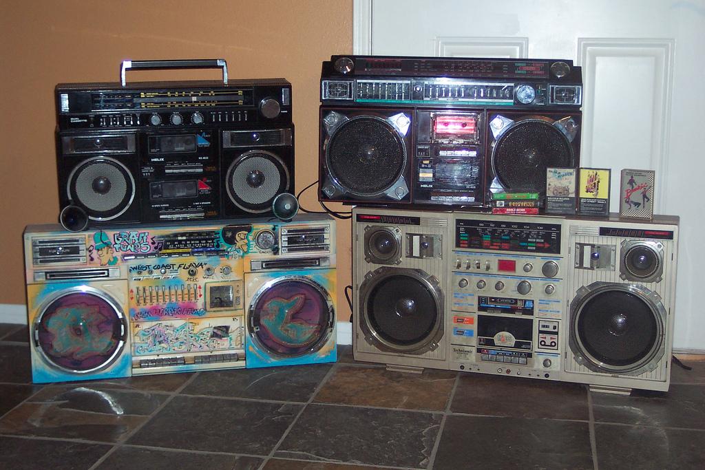 radiocasettes vintage
