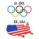 ¿Por qué hay siglas con letras repetidas? EE UU, JJ OO