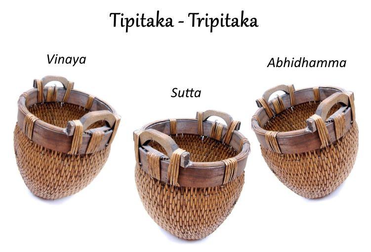 tres cestos budismo