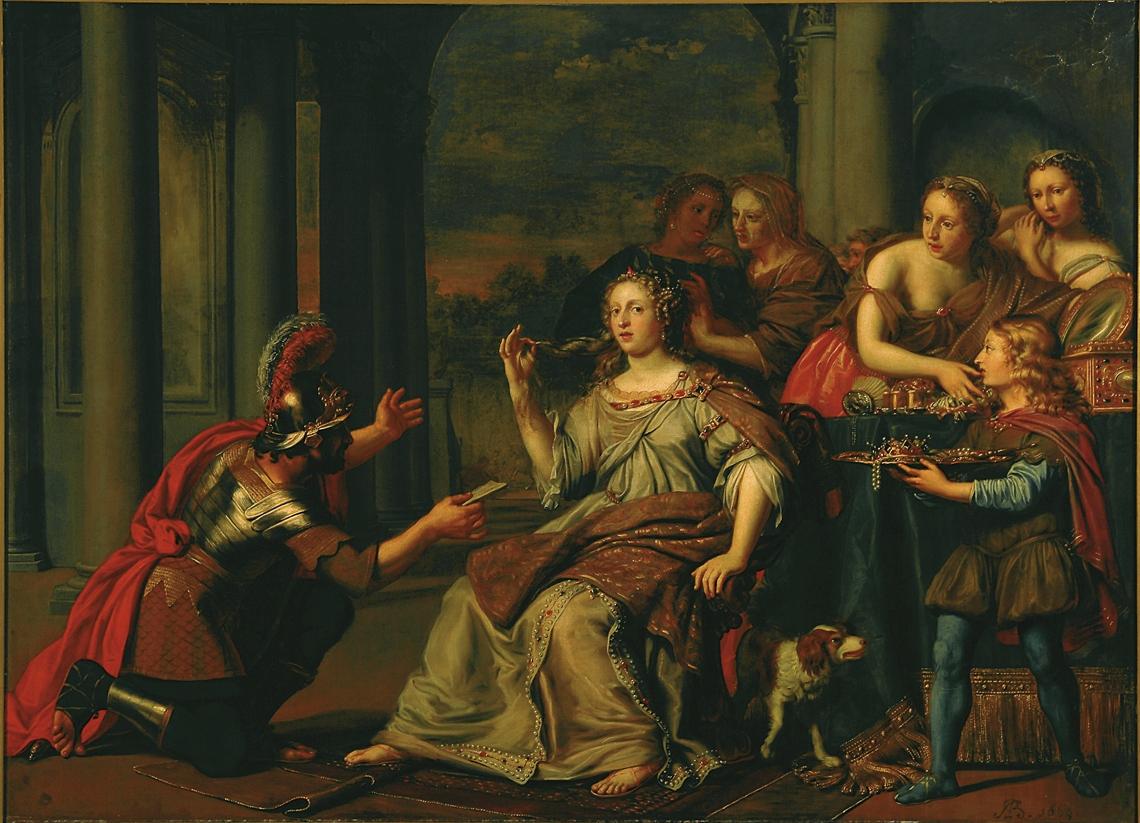 Adriaen Backer Semiramis babilonia 1669