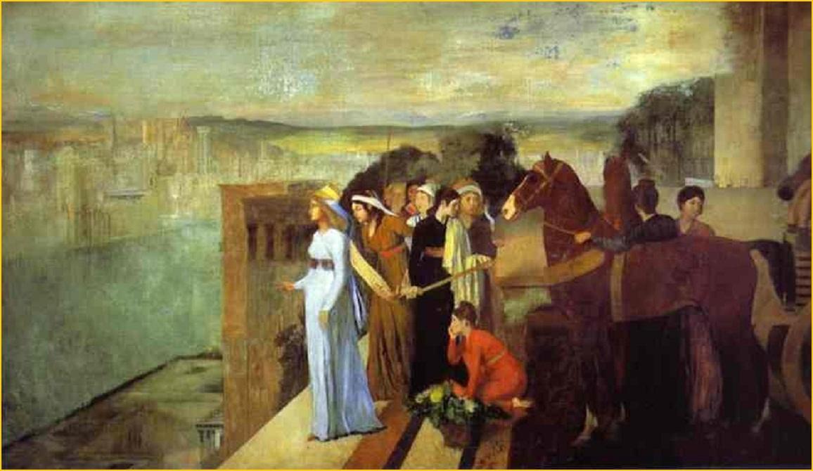 semiramis construyendo babilonia