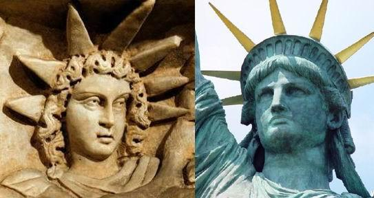 semiramis estatua libertad