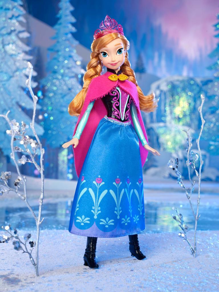 anna frozen corona