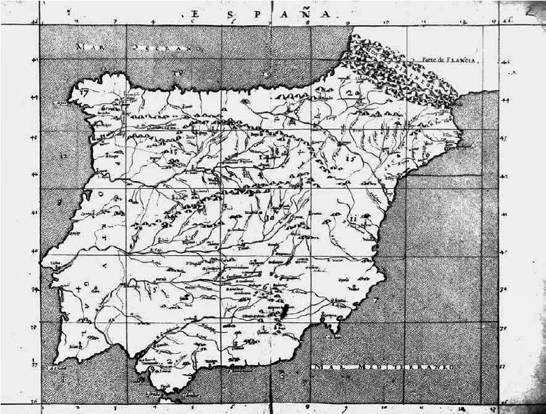 Mapa atlas escorial 1540
