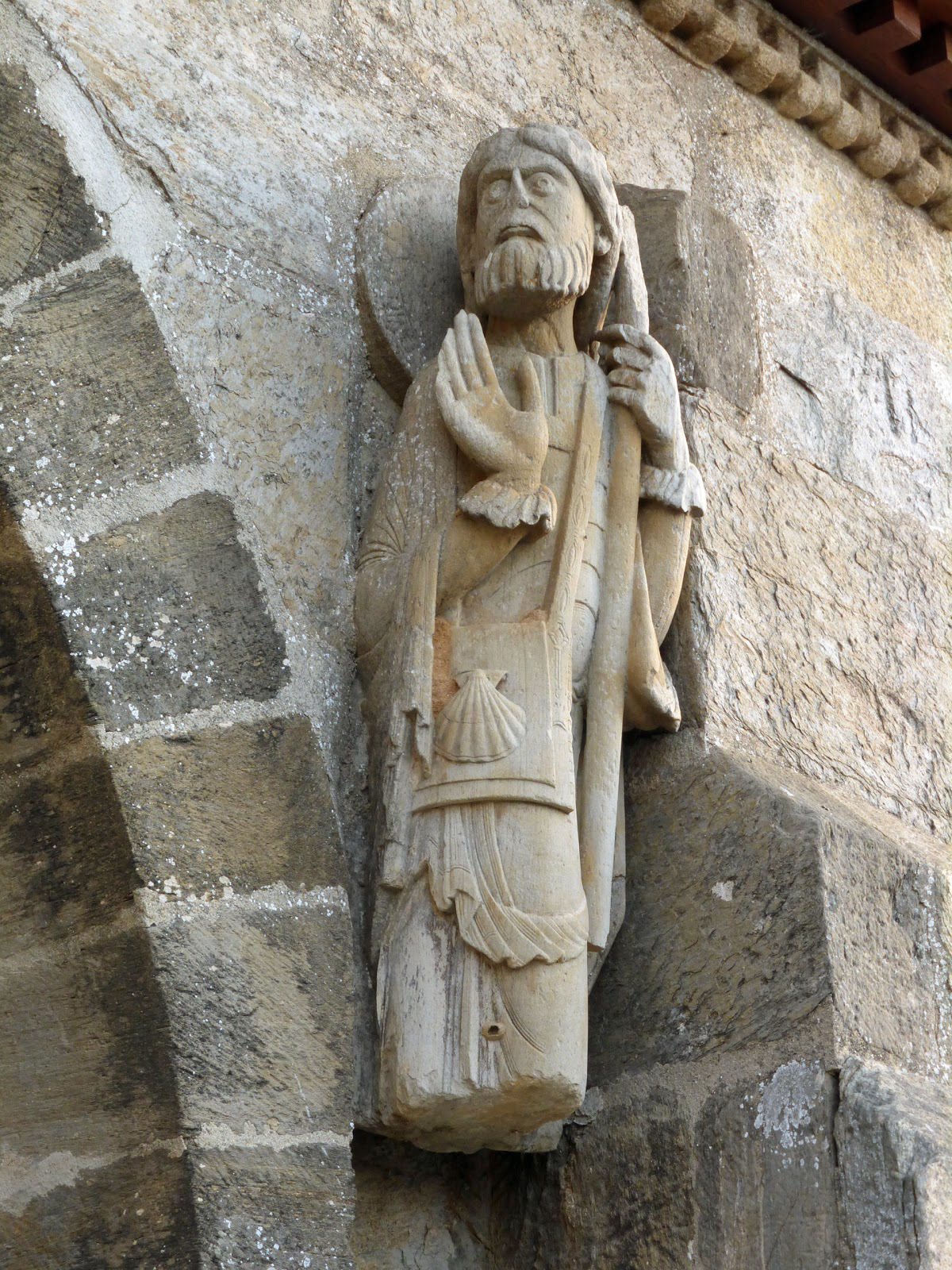 Santiago peregrino iglesia santa marta