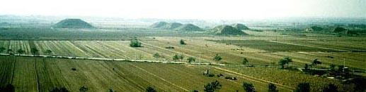 china piramides