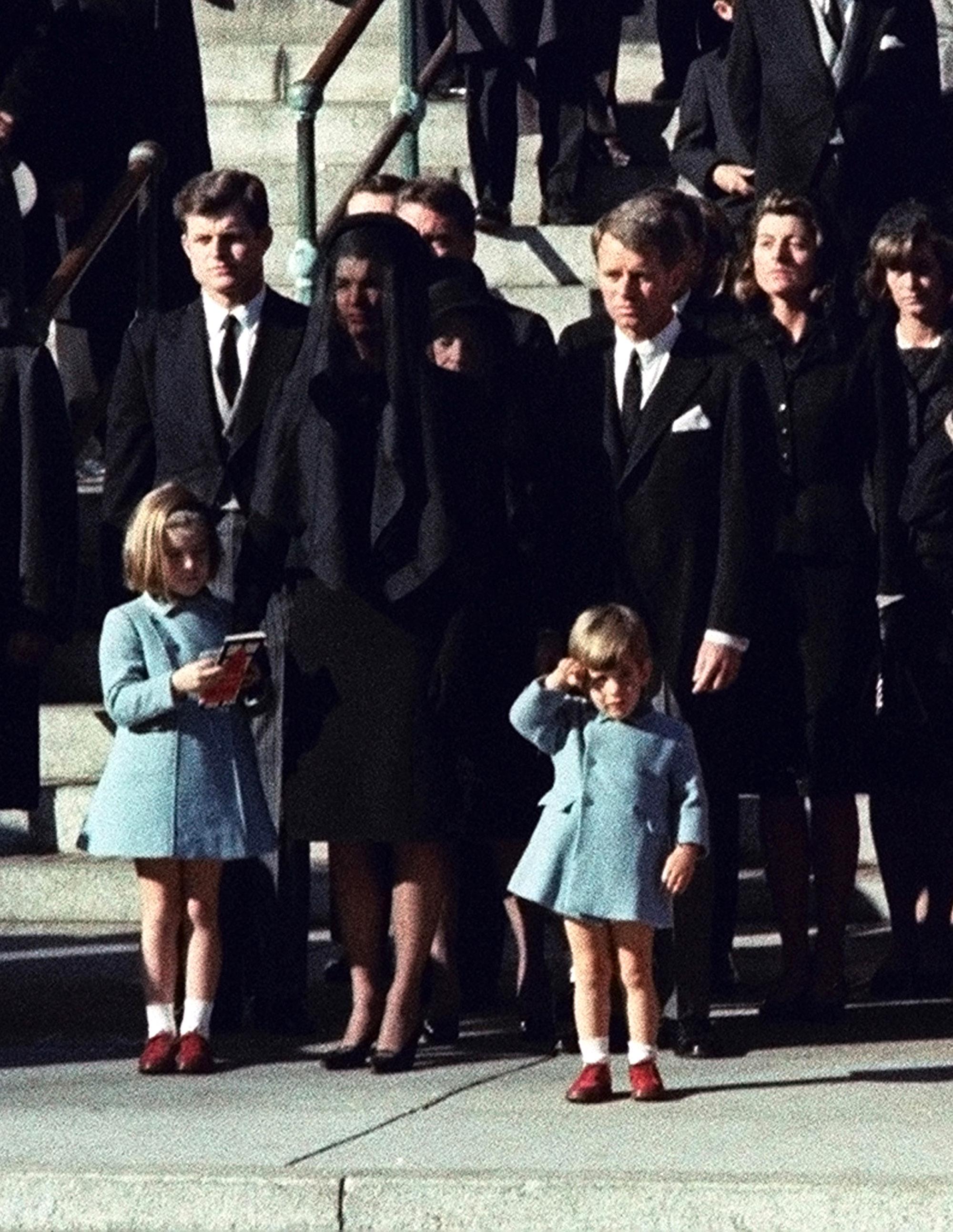 funeral jackie kennedy