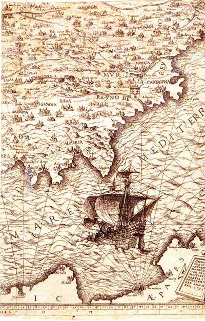 mapa G Cook 1553