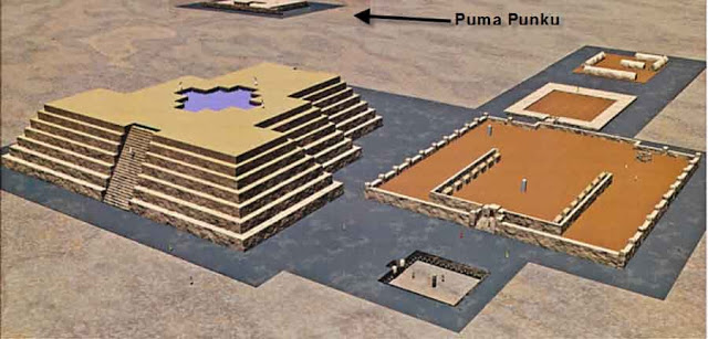 piramide Acapana tihuanaco