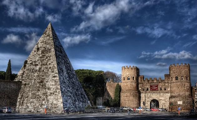 piramide Cayo Cestio
