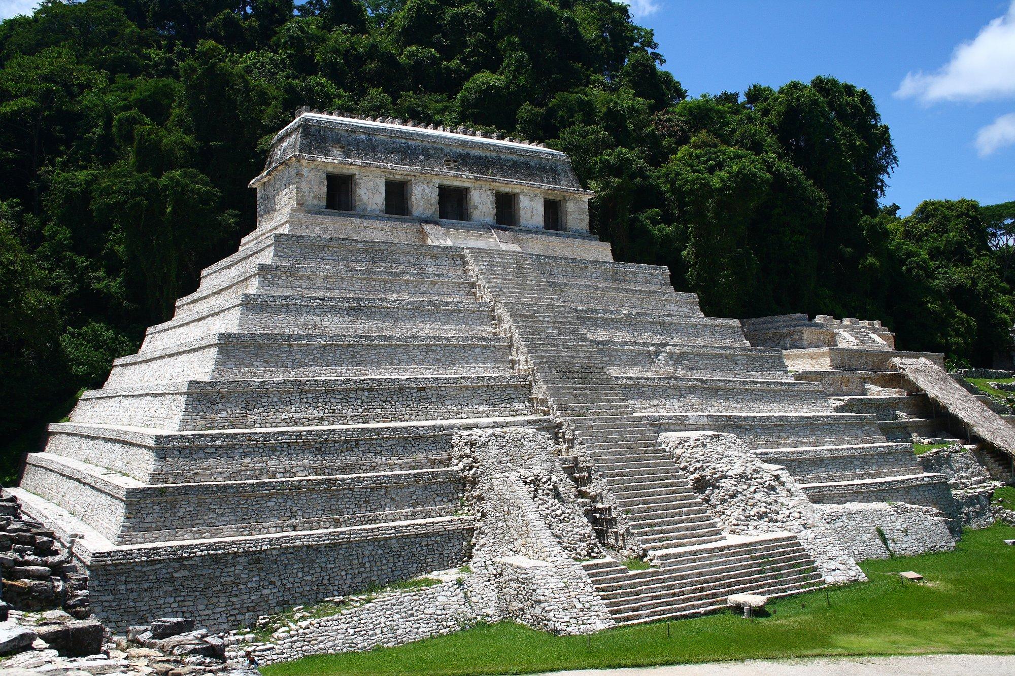 piramides chiapas Palenque