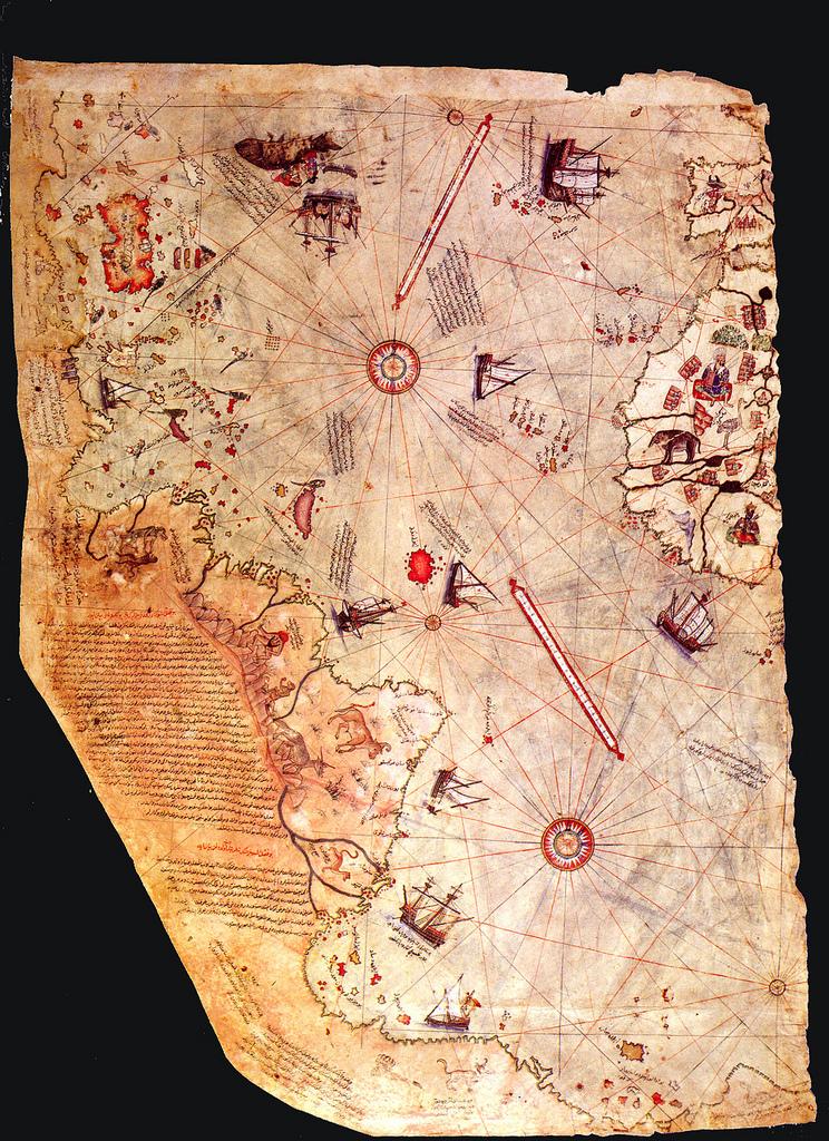 Mapa Piri Reis atlantida