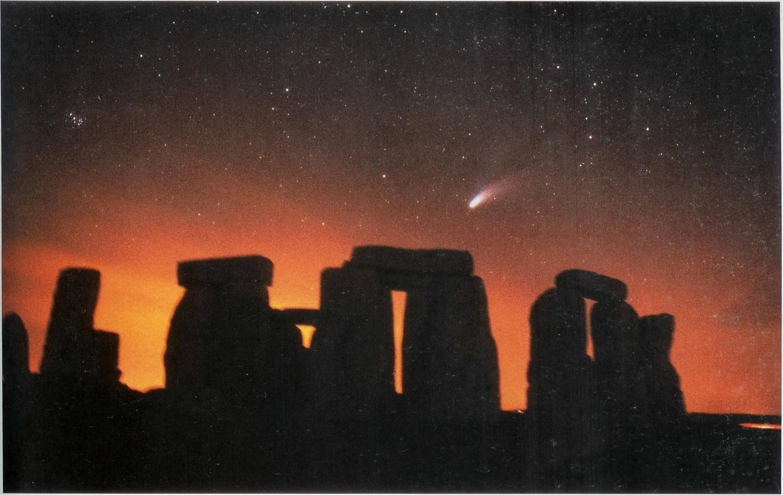 hale bopp stonehenge 1997