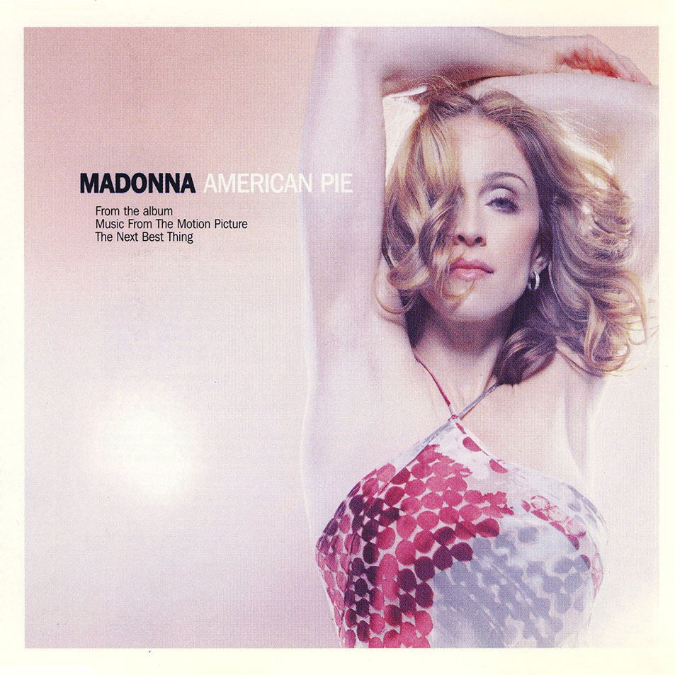 Madonna american pie CD Single Frontal