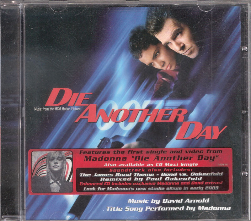 die another day sountrack cd