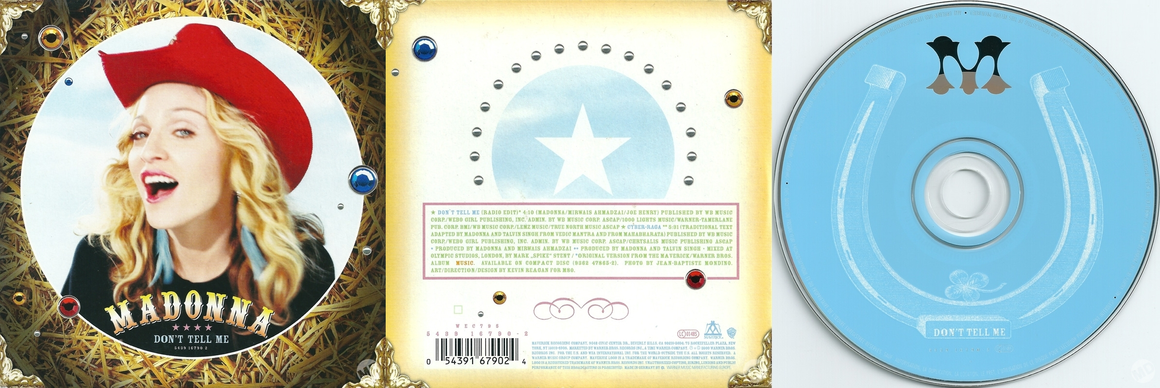 madonna dont tell me cd single alemania