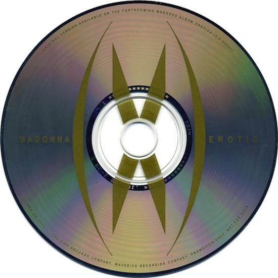 madonna erotic sex promo cd