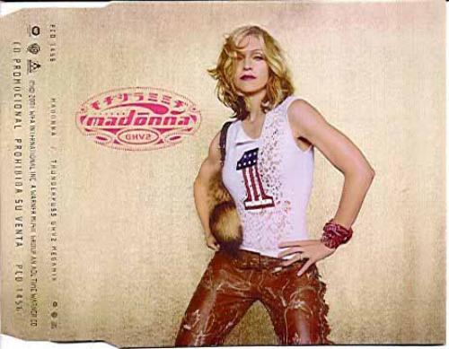 madonna ghv2 promo cd