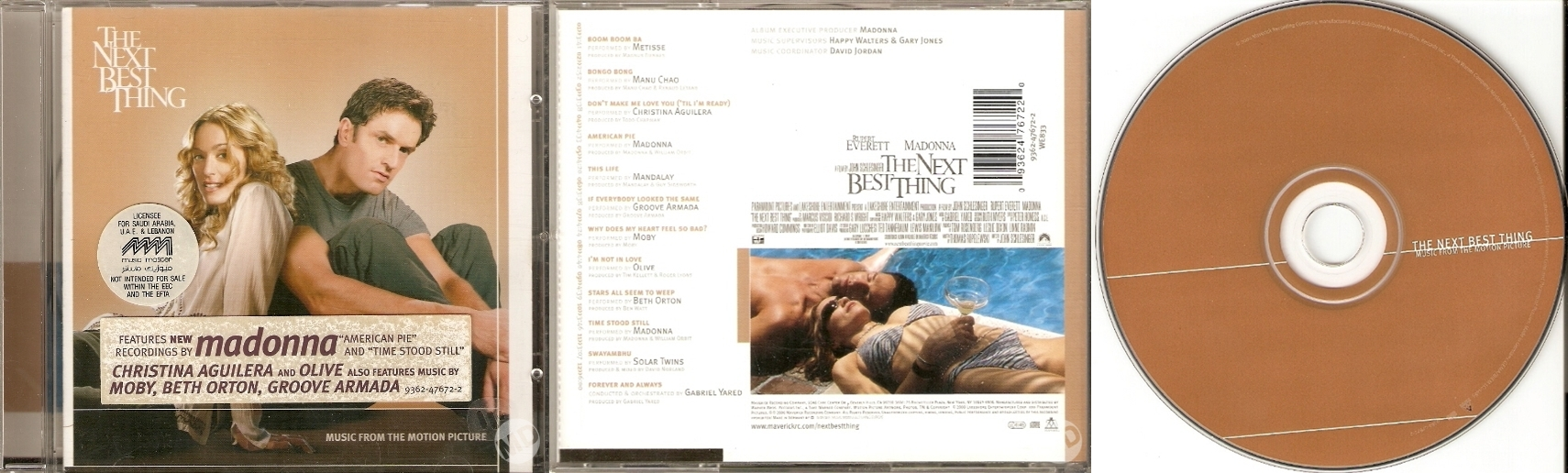 madonna the next best thing soundtrack cd arabia