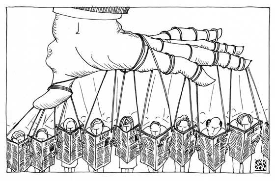 manipulacion sociedad medios