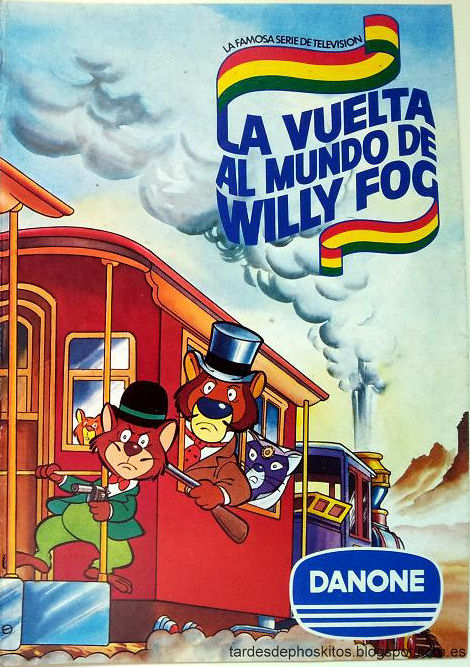 album cromos willy fog